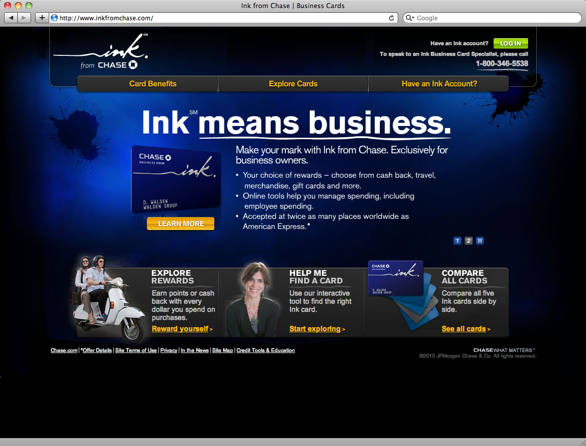 Dalton tomlin copywriter copy editor austin tx ink from chase business credit cards site reheart Image collections